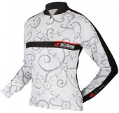jersey women thermal sobike flower talla xl