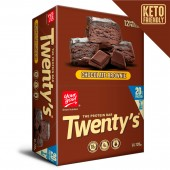 barra de cereal your goal twenty´s chocolate brownie 20g de proteína (display 12 unds, 60g c/u)