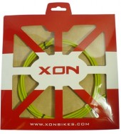 cable exterior xon green ø4.0 x 1.8mts w/grease