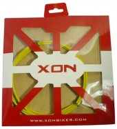 cable exterior xon yellow ø4.0 x 1.8mts w/grease