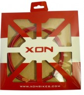 cable exterior xon red ø4.0 x 1.8mts w/grease