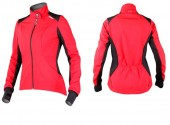 chaqueta women sobike sleeves red talla m