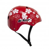 casco skate le tour 11 vent. c/ regulacionred/flowers (s) 52