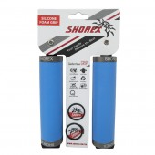 punos shorex de silicona blue doble lock 130mm 32mm