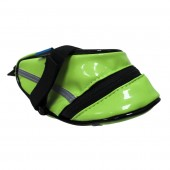 bolso sillín roswheel verde impermeable pu size:l18h9.5w