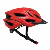 casco vision  w698  rojo adult unisize regulable bicycle h
