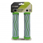 puños 2 densidades t-one green+grey wave  t-gp12b/g