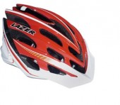casco lazer nirvana fluid red white xxs-m
