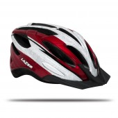 casco lazer vandal red white (l) mtb