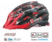 casco kabuto faro (s/m) modern red ms01