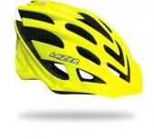 casco lazer nirvana solid flash yellow (l) 255 gramos mtb