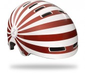 casco lazer street candy metallic red (l) 450 gramos urb