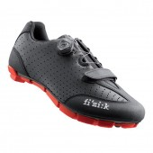 zapatilla fizik m3b uomo 350 gramos black/red (45) ms01