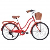 "bici. 24"" ** gama ** city petite matte red gm2425mre"