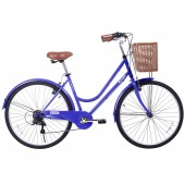 "bicicleta gama 26"" city basic blueberry gm2615blu"
