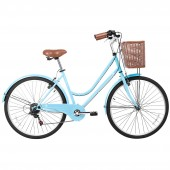 "bicicleta gama 26"" city basic celeste gm2615cel"