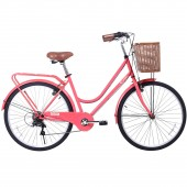 "bicicleta 26"" gama city basic coral gm2615cor"