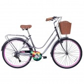 "bici. 26"" ** gama ** city avenue nebula gm2625neb"