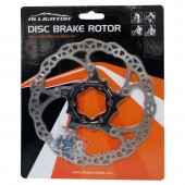 rotor disco alligator 160 mm 6-pernos hk-r34 negro al/