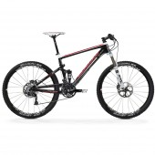 "bicicleta merida ninety nine carbon 3000-d aro 26"" white/ud carbo"