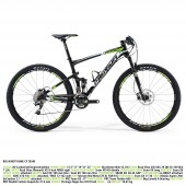 "bicicleta merida big ninety nine cf team aro 26"" ud carbon/white/"