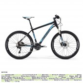 "merida matts 900 aro 26"" black (white/blue) talla 16"""