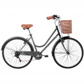 "bicicleta gama 26"" city basic gris gm2615gri"