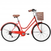 "bicicleta gama 26"" city basic red gm2615red"