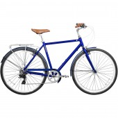 "bicicleta gama 28"" metropole men royal blue gm7050roy"