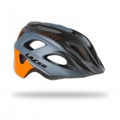 casco lazer beam black orange stripes (m) blu216788004