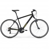 merida crossway 10-v 58cm silk black lady