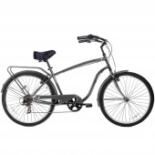 "bicicleta gama 26"" cruiser men mate gm2630mat"