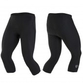 malla elite pursuit short- solid xxl black 11111614 pearl izumi