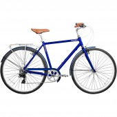 "bicicleta gama 28"" metropole men talla 19 royal blue 702038339281"