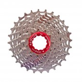 piñon seqlite ultra light 11 / 28 t 11 vel. monobody steel road cassette  s11-1128st (185g)