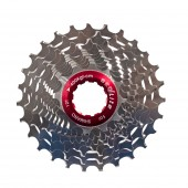 piñon seqlite ultra light 12 / 27 t 10 vel. full al.  7075 al road cassette  s10-1227 (109g)