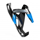 porta caramagiola elite custom race plus black glossy, blue graphic 0140634