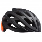 casco lazer blade+ ce-cpsc matte black flash orange talla m
