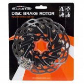 rotor con disipación freno disco alligator 160mm hk-r80