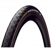 neumatico continental grand prix 4-season 700 x 25c road kevlar black/black (0100175)