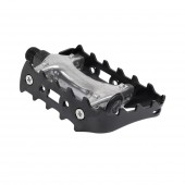 pedal mtb & ½ p. negro/silver taiwan ms01