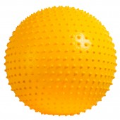 balón de pilates con poros (pimple massage) joerex modelo fb29324  - 65 cm color amarillo