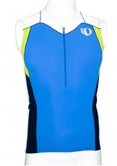 jersey pearl izumi hombre blue/lime   (m)