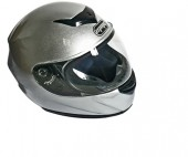 casco integral mmg k-22-b dot m silver con bluetooth