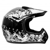 casco moto mmg dot (xl) black 308 ky-128 ms01