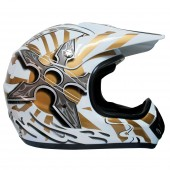 casco moto mmg dot (xl) white 621 ky-128 ms01