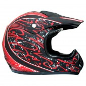 casco moto mmg dot (xl) mat black 238r ky-128 ms01
