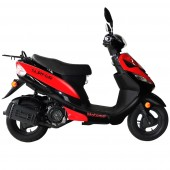 scooter 125cc motomel surfer roja
