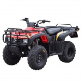 atv 250cc motomel quest 4x2 rojo