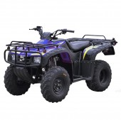 motomel quest atv 250cc 4x2 azul